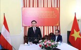 Chủ tịch Quốc hội gặp cán bộ Đại sứ quán Việt Nam tại Áo và đại diện cộng đồng người Việt Nam tại một số nước ở châu Âu