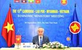 Hội nghị Bộ trưởng Kinh tế CLMV lần thứ 13