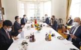 Chủ tịch Quốc hội Vương Đình Huệ hội kiến Thủ tướng Cộng hòa Phần Lan