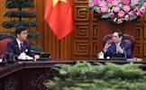 Thủ tướng Phạm Minh Chính tiếp Bộ trưởng Quốc phòng Nhật Bản Kishi Nobuo
