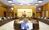 Hôm nay, khai mạc phiên họp thứ 3 của Ủy ban Thường vụ Quốc hội khóa XV