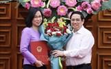 Thủ tướng trao Quyết định bổ nhiệm Tổng Giám đốc TTXVN cho bà Vũ Việt Trang