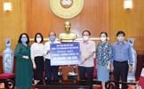 Tiếp nhận hơn 20.000 lon sữa từ Đài Tiếng nói Việt Nam ủng hộ đồng bào khó khăn