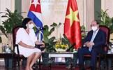 Chủ tịch nước Nguyễn Xuân Phúc tiếp các tổ chức hữu nghị Cuba-Việt Nam