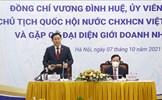 Chủ tịch Quốc hội Vương Đình Huệ gặp gỡ đại diện giới doanh nhân Việt Nam