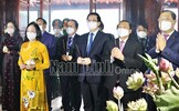 Phó Chủ tịch - Tổng Thư ký Lê Tiến Châu dự Lễ kỷ niệm 110 năm Ngày sinh đồng chí Lê Đức Thọ