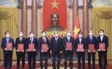 Chủ tịch nước giao nhiệm vụ cho các Đại sứ, Trưởng cơ quan đại diện Việt Nam ở nước ngoài
