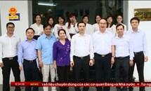Bí thư Thành ủy TP. Hồ Chí Minh Nguyễn Thiện Nhân thăm Tạp chí Mặt trận