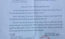 Hà Nội: Sở Xây dựng đề nghị quận Hoàn Kiếm giải quyết vụ việc xây nhà sai phép tại số 8 Lý Nam Đế