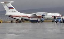 Máy bay Nga chở hàng viện trợ bão lũ đến Cam Ranh