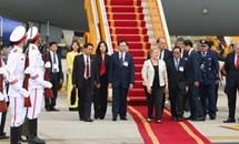 Tổng thống Chile Michelle Bachelet Jeria bắt đầu thăm cấp Nhà nước tới Việt Nam