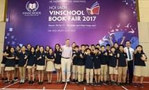 Vinschool book fair 2017 đón nhà văn dành cho tuổi teen nổi tiếng