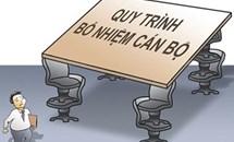 Quy định về bổ nhiệm cán bộ: Phải quyết liệt, tránh hình thức