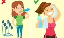 Dù khát đến mấy cũng nên tránh uống nước vào 9 thời điểm này