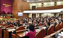 Toàn văn Thông cáo Báo chí về ngày làm việc thứ 5 Hội nghị Trung ương 7