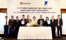 SeABank và Tập đoàn Bưu chính viễn thông Việt Nam (VNPT) ký thỏa thuận hợp tác chiến lược & toàn diện