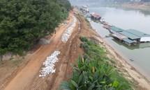 Xây  đường lên kè sông: Bài học về tính cấp thiết, hiệu quả đối với các dự án đầu tư xây dựng tại tỉnh Tuyên Quang