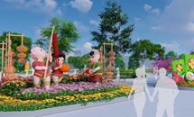 """Hạ Long lại """"chơi sang"""" với Lễ hội hoa xuân quy mô nhất miền Bắc"""