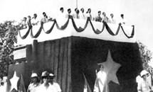 Chủ tịch Hồ Chí Minh trong Tháng Độc lập đầu tiên của dân tộc