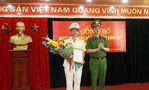 Điều động, bổ nhiệm Thiếu tướng Trần Minh Lệ giữ chức Cục trưởng Cục Cảnh sát phòng chống tội phạm về môi trường