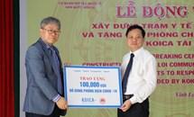 KOICA tặng gói hỗ trợ 100.000 USD chống COVID-19