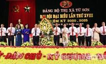 Bắc Ninh: Ông Lê Xuân Lợi- Chủ tịch UBND thị xã Từ Sơn được bầu giữ chức Bí thư Thị ủy Từ Sơn