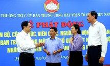 Một số kinh nghiệm của Mặt trận Tổ quốc Việt Nam trong công tác cứu trợ nhân dân