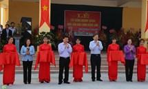 """""""Ngày hội Đại đoàn kết toàn dân tộc"""" tại khu dân cư thôn Đổng Lâm"""