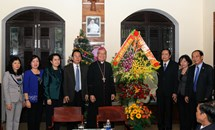 Chủ tịch Trần Thanh Mẫn chúc mừng Giáng sinh tại Đà Nẵng  