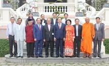 Chủ tịch Trần Thanh Mẫn chúc mừng Giáng sinh tại TP. Hồ Chí Minh và Tiền Giang