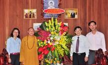Phó Chủ tịch Nguyễn Hữu Dũng chúc mừng Đại lễ Phật đản 2018 tại Hà Nội