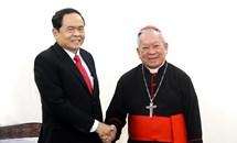 Chủ tịch Trần Thanh Mẫn chúc mừng Lễ Giáng sinh năm 2018