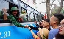 Rộn ràng tân binh Hà Nội trong ngày hội tuyển quân 2019