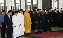 Tổ chức trọng thể lễ tang đồng chí Nguyễn Phúc Thanh