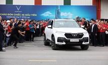 VinFast hoàn thành sản xuất thử nghiệm chiếc xe VinFast Lux SUV đầu tiên