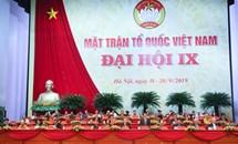 Phiên họp thứ nhất Đại hội đại biểu toàn quốc MTTQ Việt Nam lần thứ IX