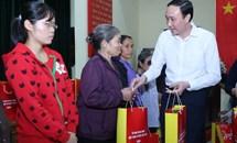 Chăm lo Tết cho người nghèo huyện Kim Động, Hưng Yên