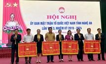 Ủy ban MTTQ Việt Nam tỉnh Nghệ An tổ chức Hội nghị lần thứ 3