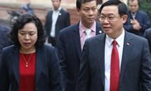 Bí thư Vương Đình Huệ làm việc với Ủy ban MTTQ thành phố Hà Nội