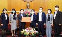 Kho bạc Nhà nước Việt Nam đồng hành cùng Mặt trận chống dịch Covid-19