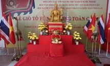 Kiều bào tại Thái Lan hướng về quê hương nhân ngày giỗ Tổ