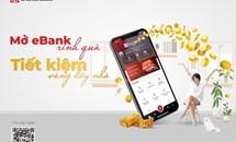 """Cùng SeABank """"Mở Ebank rinh quà - Tiết kiệm vàng đầy nhà"""""""