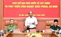 Thủ tướng yêu cầu tiếp tục kiện toàn tổ chức công nghiệp quốc phòng