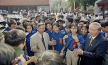 Nguyên Tổng bí thư, Chủ tịch nước Lào chia sẻ những ấn tượng sâu sắc về đồng chí Lê Khả Phiêu