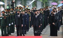 Tổ chức trọng thể Lễ viếng nguyên Tổng Bí thư Lê Khả Phiêu