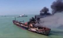 Va chạm giữa tàu chở hàng và tàu chở xăng ở Trung Quốc, 14 người mất tích