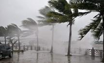 Dự báo bão số 8 sẽ đổ bộ ven biển Hà Tĩnh - Quảng Trị trong chiều 25/10