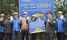 """""""Hành trình Việt Nam Xanh"""" - trồng 2.500 cây gỗ bản địa đầu tiên tại Khu bảo tồn thiên nhiên Phong Điền"""