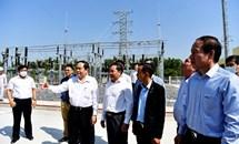 Chủ tịch Trần Thanh Mẫn dự lễ khánh thành nhà máy điện mặt trời đầu tiên tại tỉnh Hậu Giang