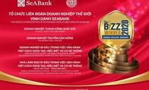 SeABank được Liên đoàn Doanh nghiệp Thế giới trao tặng 4 giải thưởng danh giá